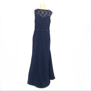 4262654579a Kennedy Blue Plus Size Evening Dress bridesmaid